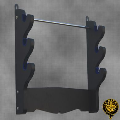 3 Sword Wall Rack