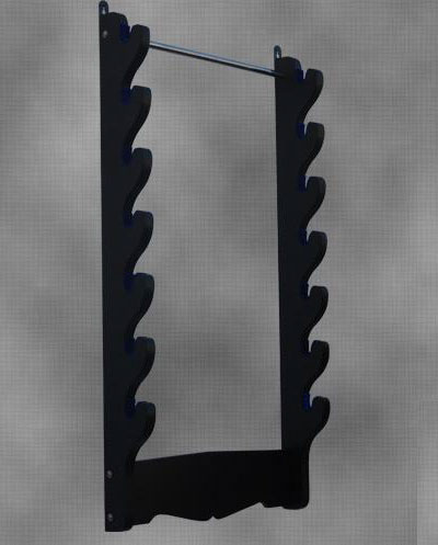 7 Sword Wall Rack