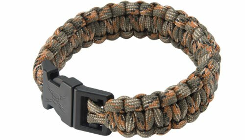 Camo Elite Forces Survival Bracelet