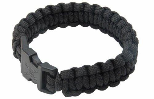 Elite Forces Black Survival Bracelet