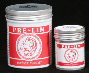 Pre-lim surface cleaner