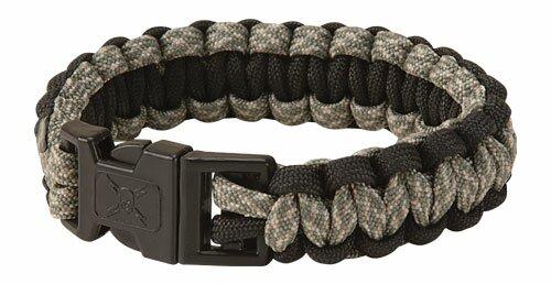 United Elite Forces Survival Bracelet Black Camo